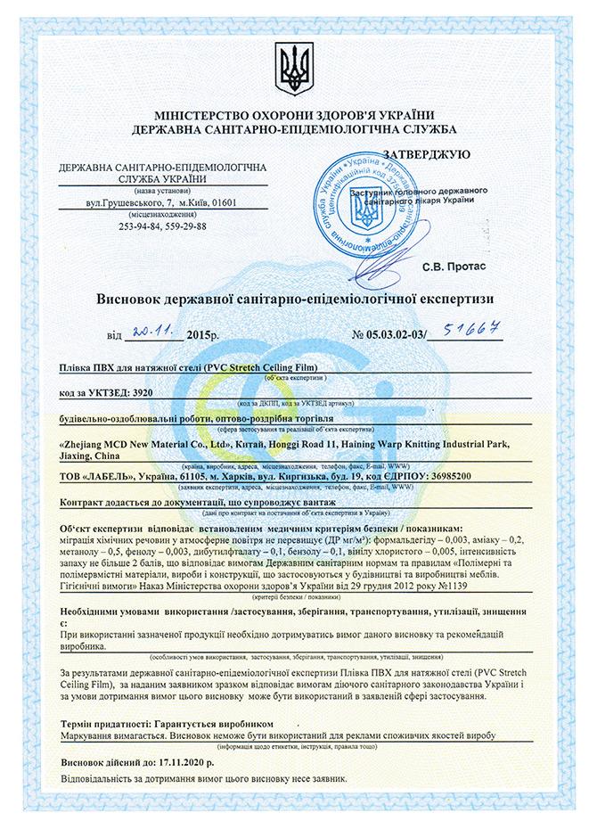 Сертифікат Б1